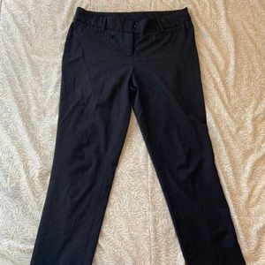 Navy blue slacks